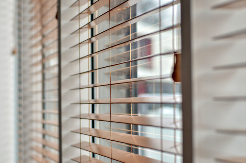 Opening and closing blinds can help regulate temperatures.