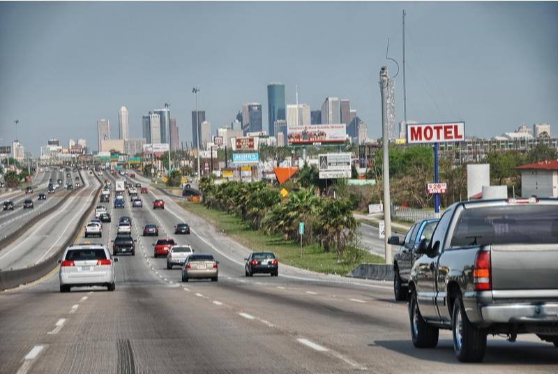 Houston drivers enjoy low gasoline prices.