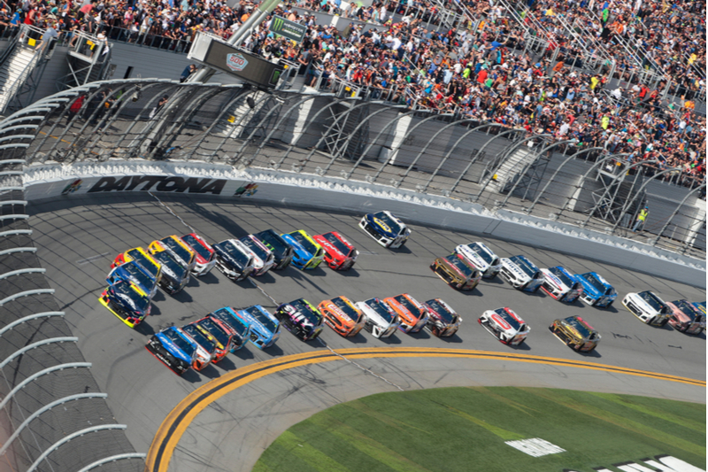 The NASCAR Daytona 500 race would look a lot differently with electric vehicles.